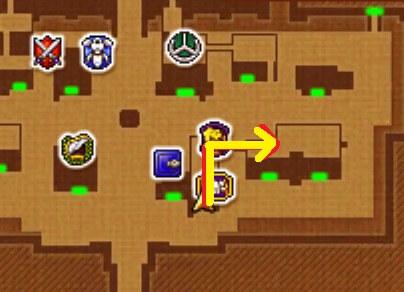 クエスト「メアリーを助けて!」3DSの2Dモード攻略マップ
