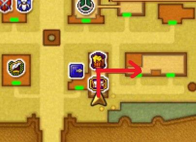 クエスト「メアリーを助けて!」3DSの3Dモード攻略マップ