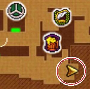 クエスト「手紙がつなぐもの」3DSの2Dモード攻略マップ