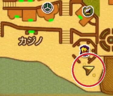 クエスト「手紙がつなぐもの」3DSの3Dモード攻略マップ