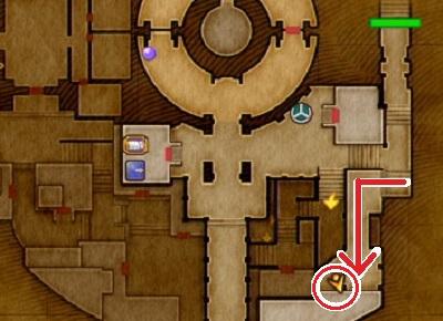 クエスト「幻の闘士はどこに?」PS4攻略マップ
