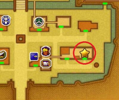 クエスト「将軍と軍師 ふたりの英雄」3DSの3Dモード攻略マップ