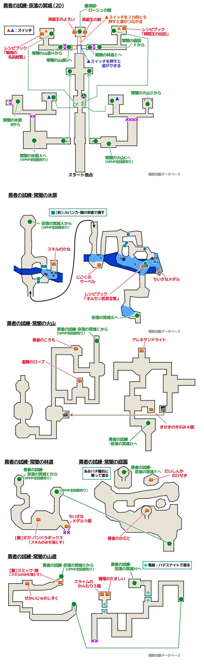 マップ ドラクエ 2